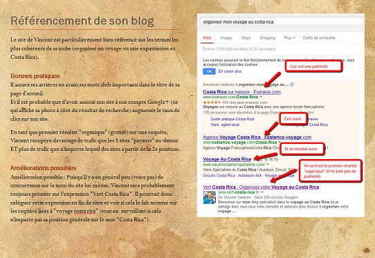 Livret gratuit : Analyse d'un blog d'entrepreneur bien conçu