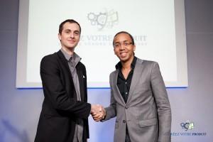 Sébastien Gourrier, gérant de SG Autorépondeur, et Sébastien Le Marketeur Français